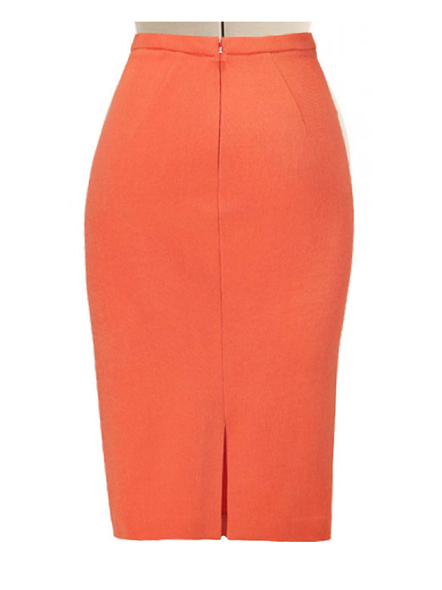 Linen pencil Skirt – Wide Variety of Colors 409d72b8413