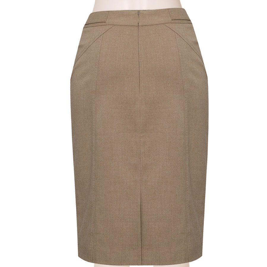 56870f9c1 Tailored Wool Blend Pencil Skirt, Custom Fit, Handmade, Fully Lined, Wool  Blend Fabric