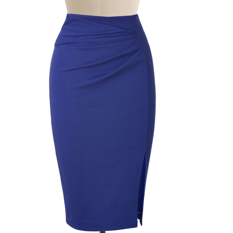 Classic Drape front pencil skirt – Elizabeth's Custom Skirts