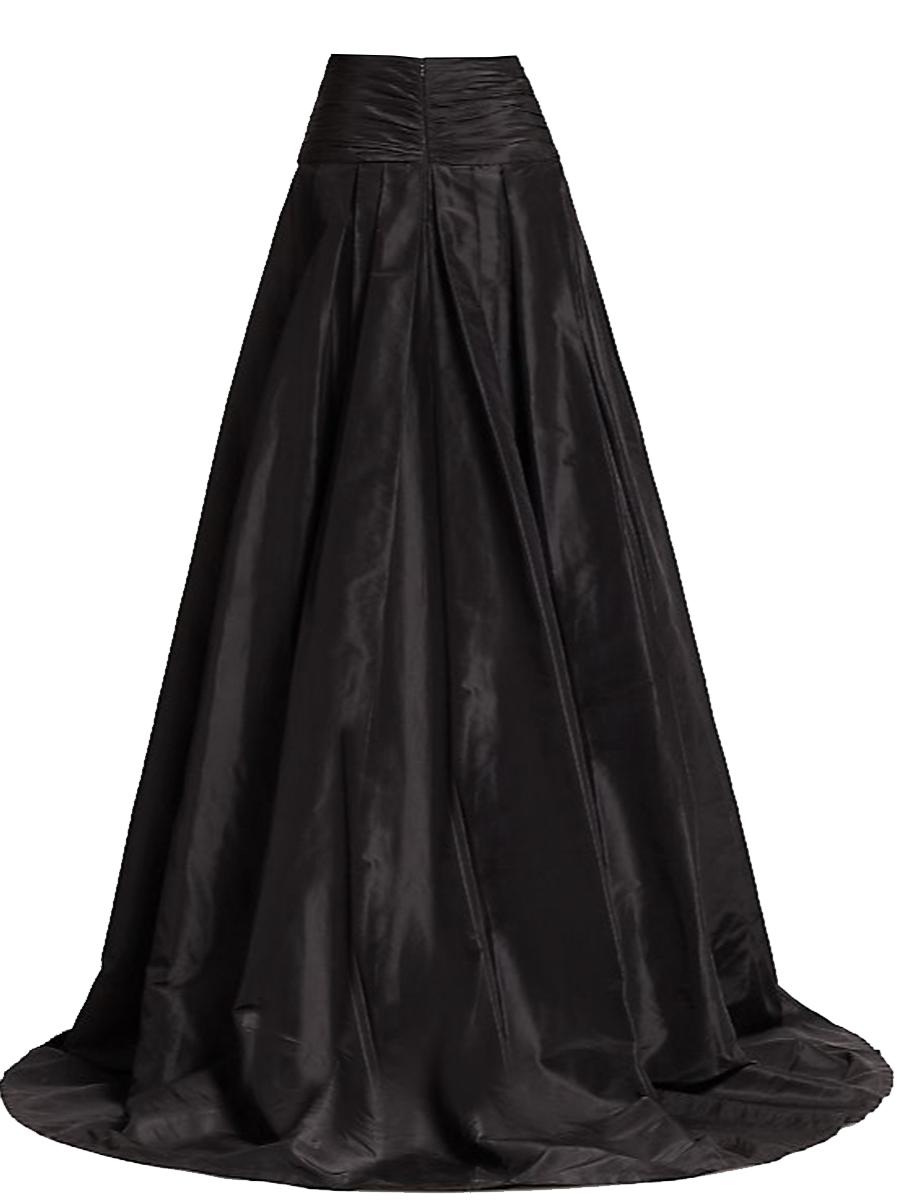 3691efd309f Satin Yoke Maxi Skirts – Elizabeth s Custom Skirts
