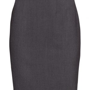 f6e1173440 Plus Size Classic Dark Gray polyester wrinkle free pencil skirt