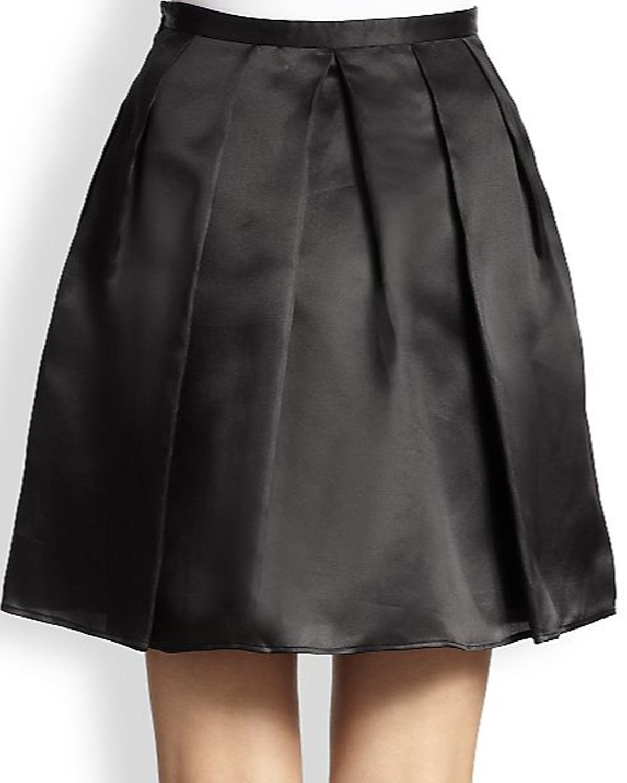 a4144f0148d Satin Pleated Mini Skirt – Elizabeth s Custom Skirts