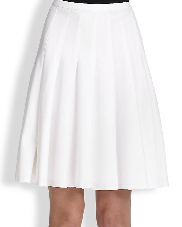 Pleated Skirt Plus Size