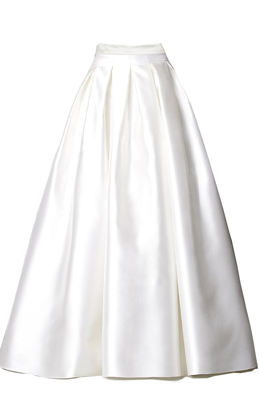White Satin Blouse Plus Size